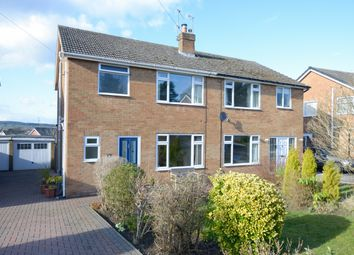 Thumbnail 3 bed semi-detached house for sale in Belvedere Close, Walton, Chesterfield
