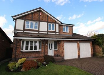 Thumbnail 4 bed detached house for sale in Hathersage Drive, Glossop