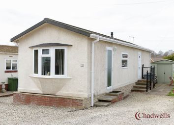 Thumbnail 2 bedroom mobile/park home for sale in Caravan Site, Mickledale Lane, Bilsthorpe, Newark