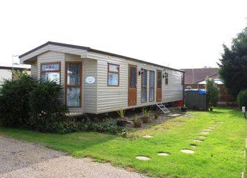 Thumbnail 2 bed mobile/park home for sale in Burgh Castle, Great Yarmouth, Norfolk
