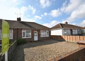 Thumbnail 2 bedroom semi-detached bungalow for sale in Spinney Road, Thorpe St. Andrew, Norwich