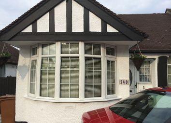 Thumbnail 2 bed semi-detached bungalow for sale in Croydon Road, Croydon, London
