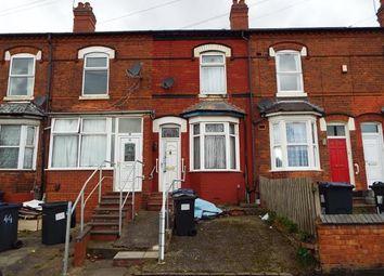 Thumbnail 3 bed terraced house for sale in Wiggin Street, Birmingham, West Midlands