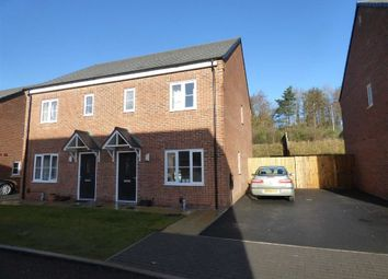 Thumbnail 3 bedroom semi-detached house to rent in Ken Jones Close, Telford, Shropshire