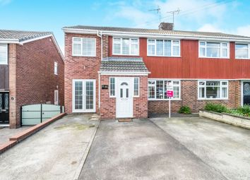 Thumbnail 3 bed semi-detached house for sale in Hoades Avenue, Woodsetts, Worksop