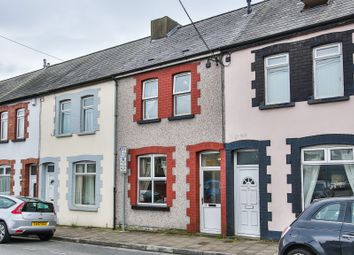 Thumbnail 2 bed terraced house for sale in Lawrence Street, Caerphilly