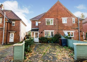 Thumbnail 2 bed semi-detached house for sale in Browning Drive, Lincoln