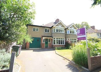 Thumbnail 3 bedroom semi-detached house for sale in Addington Road, Reading