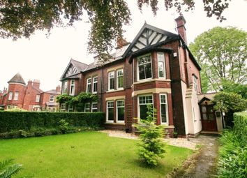 Thumbnail 5 bed semi-detached house for sale in Greenleach Lane, Worsley, Manchester