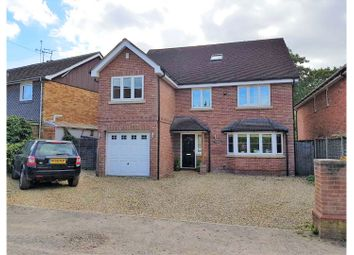 Thumbnail 6 bed detached house for sale in Albert Road, Crowthorne