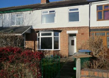 Thumbnail 4 bedroom terraced house to rent in Dane Road, Stoke, Coventry