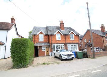 Thumbnail 4 bed semi-detached house to rent in Eversley Road, Yateley, Hampshire