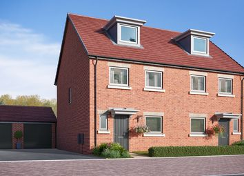 "Thumbnail 4 bed semi-detached house for sale in ""The Aslin"" at Cautley Drive, Killinghall, Harrogate"