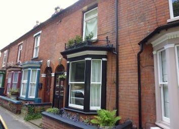Thumbnail 3 bed terraced house for sale in Lindum Avenue, Lincoln