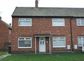 Thumbnail 2 bed semi-detached house to rent in Elwin Place, Pelton, Chester Le Street