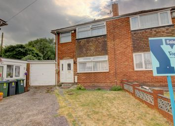 Thumbnail 3 bedroom semi-detached house for sale in Hall Crescent, West Bromwich