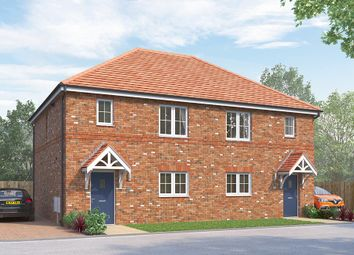 "Thumbnail 3 bed semi-detached house for sale in ""The Newbridge"" at Wellfield Road North, Wingate"
