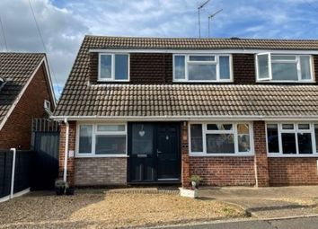 Thumbnail 3 bed semi-detached house for sale in Grasscroft, Kingsthorpe, Northampton