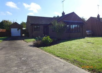 Thumbnail 3 bed bungalow to rent in Burghley Close, Nettleton, Market Rasen