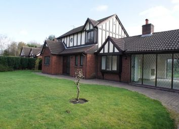 Thumbnail 4 bed detached house to rent in Sandicroft Close, Locking Stumps, Birchwood, Warrington