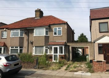 Thumbnail 3 bed semi-detached house for sale in 59 Kenmere Road, Welling, Kent
