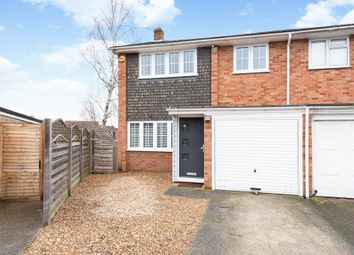 Thumbnail 3 bed end terrace house for sale in Hartley Close, Blackwater, Camberley