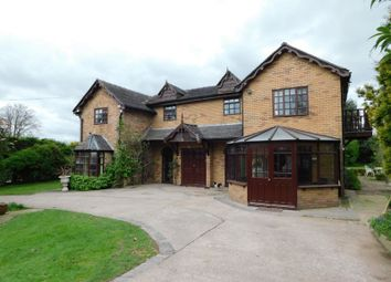 Thumbnail 4 bed detached house for sale in Gnosall Road, Gnosall, Staffordshire