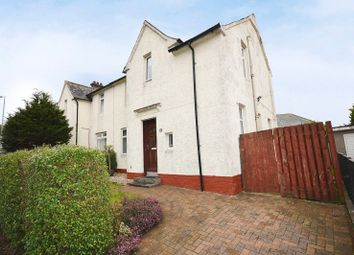 Thumbnail 3 bedroom semi-detached house for sale in Strowans Road, Dumbarton