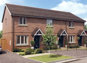 Thumbnail 2 bed terraced house for sale in King Charles Drive, Stansted, Essex