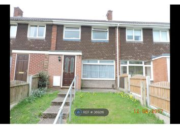 Thumbnail 3 bed terraced house to rent in Campbell Close, Rugeley
