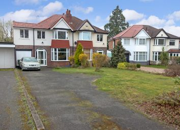 Thumbnail 3 bed semi-detached house for sale in Streetsbrook Road, Shirley, Solihull