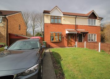 Thumbnail 3 bed semi-detached house for sale in Strange Street, Leigh