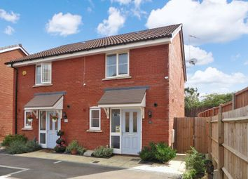 Thumbnail 2 bed semi-detached house for sale in Fossett Grove, Dunstable