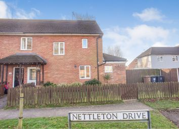 Thumbnail 3 bed semi-detached house for sale in Nettleton Drive, Witham St Hughs