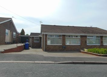 Thumbnail 2 bedroom semi-detached bungalow for sale in Hall Road, Sproatley, Hull