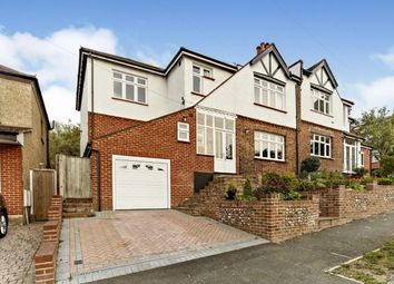 Thumbnail 6 bed semi-detached house for sale in Downs Road, Purley, Surrey