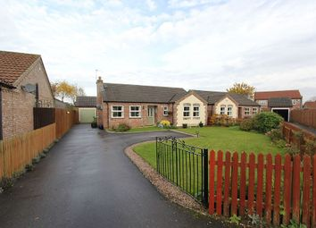 Thumbnail 3 bed detached bungalow for sale in Nursery Close, Dunholme, Lincoln, Lincolnshire