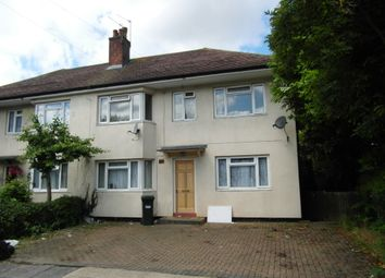 Thumbnail 2 bed flat to rent in Rostrevor Gardens, Southall