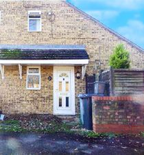 Thumbnail 1 bed terraced house to rent in Blakes Avenue, Witney, Oxfordshire