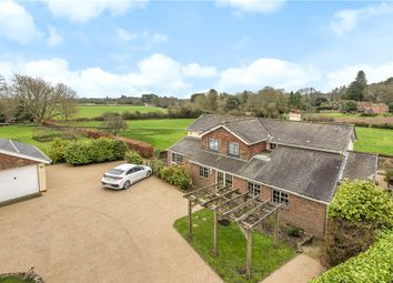 Thumbnail 4 bed detached house for sale in Danes Road, Awbridge, Romsey, Hampshire