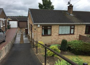 Thumbnail 2 bed semi-detached bungalow for sale in Lowfield Road, Hemsworth, Pontefract