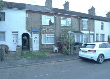 Thumbnail 3 bedroom terraced house to rent in Crown Street, Peterborough, Cambridgeshire.
