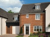Thumbnail 4 bedroom link-detached house for sale in Church Hill, Saxmundham, Suffolk