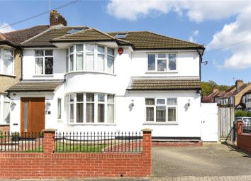 Thumbnail 5 bed semi-detached house for sale in Drummond Drive, Stanmore, Middlesex