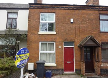 Thumbnail 2 bed terraced house to rent in Derby Road, Hinckley