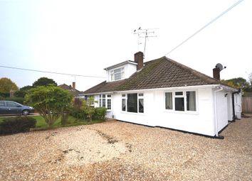 Thumbnail 3 bedroom semi-detached bungalow for sale in Cranford Park Drive, Yateley, Hampshire