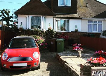 Thumbnail 3 bed bungalow for sale in Grangecourt Drive, Bexhill-On-Sea