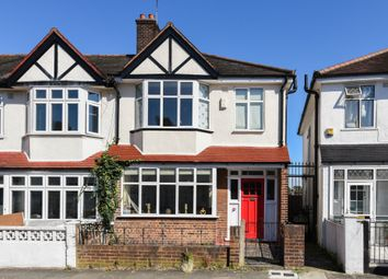 Thumbnail 3 bedroom end terrace house for sale in Millmark Grove, London