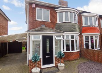 Thumbnail 3 bed semi-detached house for sale in Clarendon Road, Thornaby, Stockton-On-Tees
