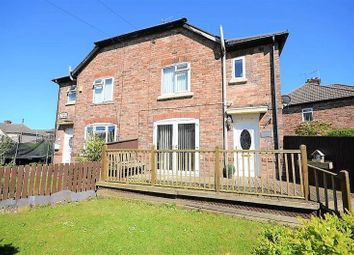 Thumbnail 3 bedroom semi-detached house for sale in 18 Vaux Crescent, Bootle